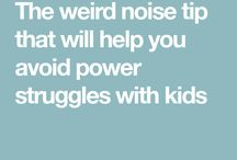 things to try with the kid's