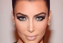 Kim Kardash Makeup