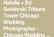 Celebrities Bachelorette TV Star Ed Swiderski marries wife Natalie in Chicago - photos of rooftop wedding on top of the Tribune Tower Building / Ed is not a bachelor anymore. See all the photos and wedding details by Miller + Miller Wedding Photography at http://www.chicagoillinoisweddingphotography.com/2016/02/29/natalie-ed-swiderski-chicago-rooftop-wedding-photos-crown-tribune-tower-building/