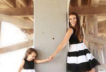 Roupas mãe e filha