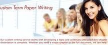 Term Paper Writing / Professional term paper writing service all the support and assistance you need is available from EssaysMine.com a writing service that specializes in term paper help.