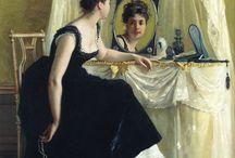 Mirror in art