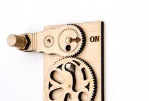 деревянные механизмы