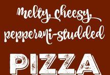 Pizza gnocchi