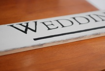 Wedding - Decor, Signage