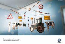 Creative Volkswagen Prints Ads