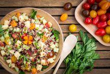 Recettes : Salades et Crudités à la table des Produits Laitiers / Ouvrez les appétits avec gourmandise et raffinement.   Découvrez nos recettes d'entrées faciles, rapides et délicieuses pour bien commencer vos repas.  Que les festivités commencent ! Miam !