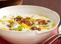 Soups / by Adrienne Krompart