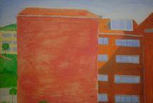 Proyectos Pintura I / Todos los trabajos realizados durante el curso en la asignatura: Pintura I