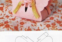 Paper Crafts / So many adorable paper crafting projects.  I just may give one a try.