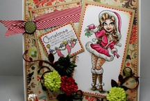 Holidays / Ideas and Inspiration for your Cardmaking needs using Digi images from the one and only Kenny K.