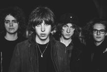 "Catfish and the Bottlemen / ,,-I trust Van.   -You think he knows what he's doing?   -I wouldn't go that far."" (tumblr: incorrectcatfishandthebottlemen)"