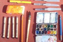 verktyg måla