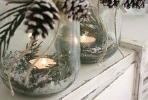 Christmas decorating / Simple and elegant