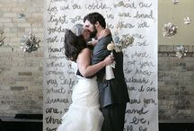 Wedding: The Altar / Ideas to decorate the Altar for the ceremony