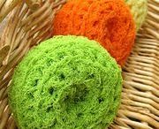 Scrubby Yarn Projects