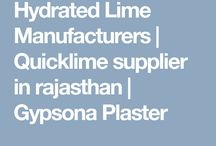 Hydrated Lime Manufacturers