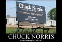 Chuck Norris / by Anjelica Shumway