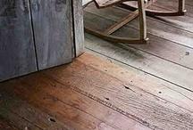 balcons et planchers en bois