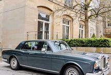 Classic English cars