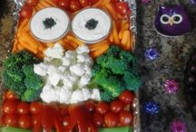 owl food / appetizers for open house f