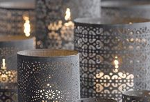 Decor: CANDLE crazy / by Donna - Funky Junk Interiors