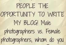 Blogs, promotions and such...
