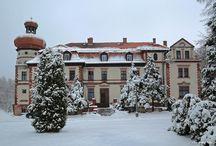 Miedary Kopanina - Pałac / Pałac w Miedarach - Kopaninie wybudowany w 1889 r. przez rodzinę baronów von Fürstenberg. Reprezentuje neobarok francuski. Obecnie dom opieki społecznej dla dzieci.