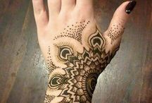 Henna, tattoo...