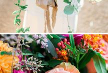 Mexican Theme Wedding / A wedding inspiration for all things Mexican. Adopting a day of the dead carnival vibe and all things vibrant and tequila flavoured!