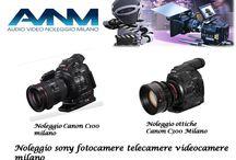 noleggio Canon C100 n C300  milano