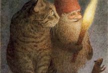 i love gnomes / by Scarborough Fair Bed & Breakfast