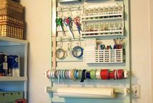 Craft room and storage / by Jessie Jackson