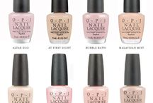 OPI Nudes / A collection of OPI Nail Polish