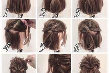 īsu matu frizūra