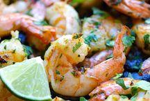 shrimps lime garlic