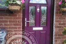 Aubergine Composite Doors