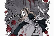 Gothic alice in wonderland