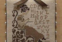 Cross stitch, Lesmarottes