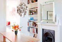 Salas ♥ Jantar e mesa / Projetos de sala de estar para inspiração e planejamento da decoração da sala de jantar // palavras-chave:inspiração, decoração, ideias, sala, salas