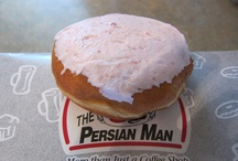 Persians / A Thunder Bay Specialty Pastry. A soft, cinnamon roll topped with fluffy, sweet, pink, berry icing. Eat as is or grilled to warm, gooey perfection. You can't come to #tbay and not eat a persian.