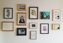 Gallery wall art