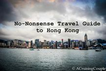 "Hong Kong - ZZZ World Ninjas / ""Bucket List Places"" we've visited and would like to visit on our ""Mom & Son Round the World Adventure"""