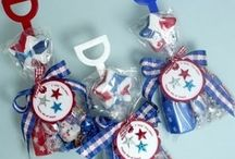 Red, White and Blue / Patriotic Crafts, Recipes, Fashion and Ideas for Memorial Day, Independence Day, July 4th and Labor Day!