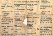 Old recipes...yum