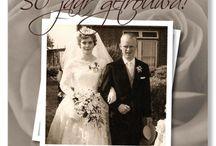 Goud / 50 jaar getrouwd