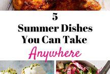 SUMMER DISHES U CAN MAKE ANY WHERE