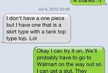 OMG LMAO / Funny stuff.