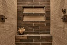 Gorgeous Shower Design / Tile With A Smile - Salem Oregon's Tile Installation Company.   This is our design idea board.