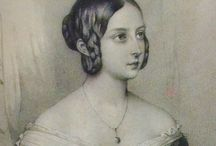 1840th hairstyles